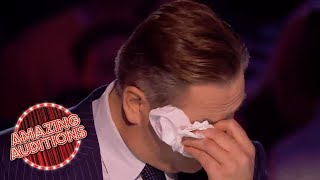 David Walliams BEST Golden Buzzers On Britain's Got Talent! | Amazing Auditions