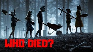 Pet Sematary (2019) DEATH COUNT