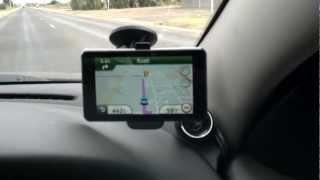 Garmin Nuvi 3790T GPS Voice command demo