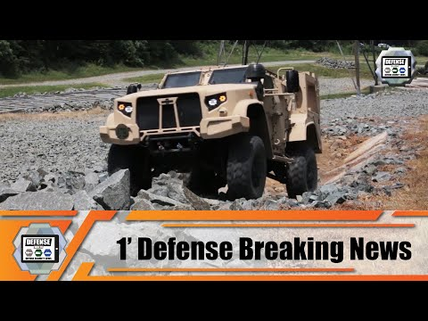 Oshkosh Defense receives order for 248 JLTV Joint Light Tactical Vehicles 1' Defense News