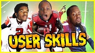 WHO'S BETTER? RICHARD SHERMAN OR JULIO JONES? - User Skills Challenge Ep.3