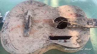 Antique Guitar Restoration