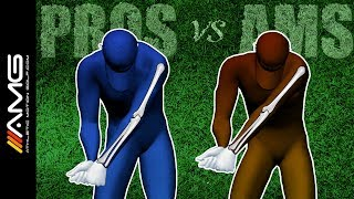 Left Arm Bend In The Golf Swing: Pros vs Ams