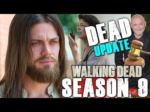 The Walking Dead Season 9 Second Half - Dead Update - Jesus to Return and Lawsuit Going to Trial!