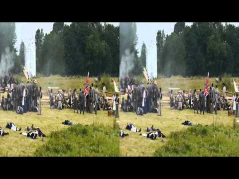 (3D) 2013 Chehalis Civil War battle re-enactment - Part 3