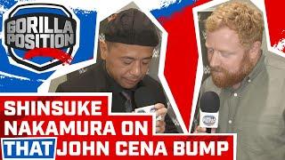 Shinsuke Nakamura Interview: On John Cena neck bump, being an artist, face vs heel & NXT