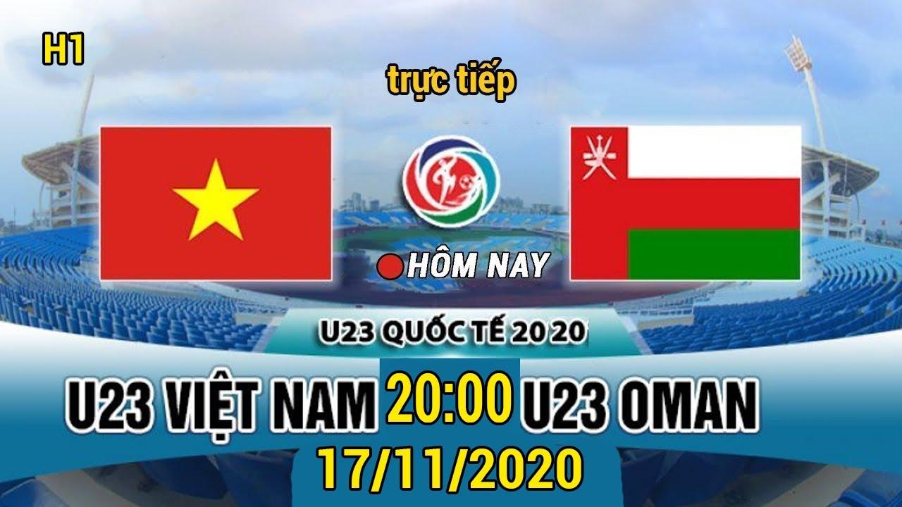 🔴 Hiệp 1   U23 Việt Nam - U23 Oman   Bùi Tiến Dũng Ra Trận - Mỹ Đình Rực Đỏ