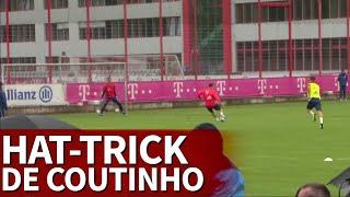Bayern | Hat-trick de Coutinho en su primer día | Diario AS