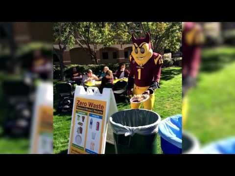 ASU Zero Waste efforts