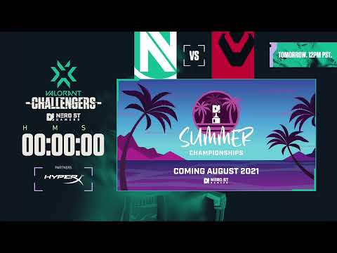 VCT Challengers NA - Closed Qualifier 2 - Day 1 - Presented by Nerd Street Gamers