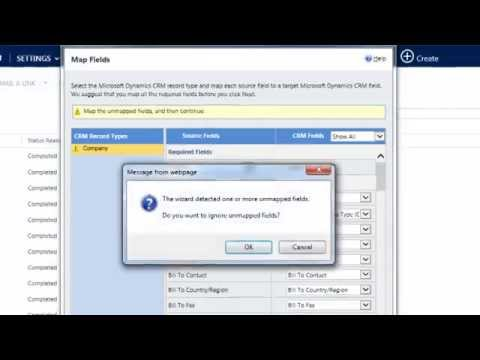 How To Import Data CRM 2013