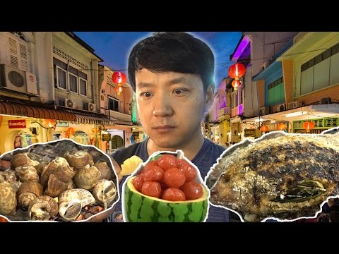 Bangkok Thailand NIGHT MARKET Food Tour - ASIATIQUE The Riverfront