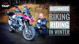How to ride a motorcycle in winter