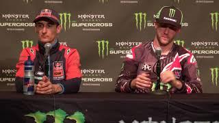 450SX Post Race Press Conference - Arlington - Race Day LIVE 2018