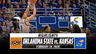 Oklahoma State vs. No. 1 Kansas Basketball Highlights (2019-20)   Stadium