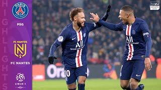PSG 2 - 0 FC Nantes - HIGHLIGHTS & GOALS - 12/4/19