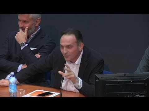 Alberto Cirio eurodeputato Ppe al convegno di As.Tro sul gioco pubblico di Torino