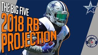 Dallas Cowboys RB Roster Projection | Which 5 RBs Make the Cowboys 53 Roster