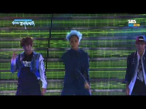 SBS 브라질 2014 특집 [드림콘서트] - Battle Stage(BTOB, VIXX)