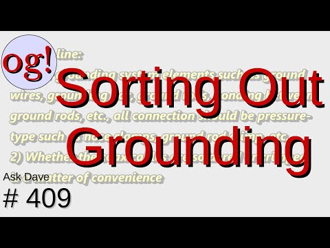 Sorting Out Grounding (#409)