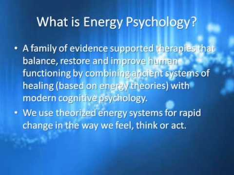 Energy Psychology: New frontier in mental and emotional health