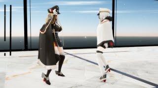 【MMD】『リバーシブル・キャンペーン』【柘榴】ビスマルク (Bismarck) ティルピッツ (Tirpitz)【アズールレーン/碧藍航線/Azur Lane】1080p FullHD