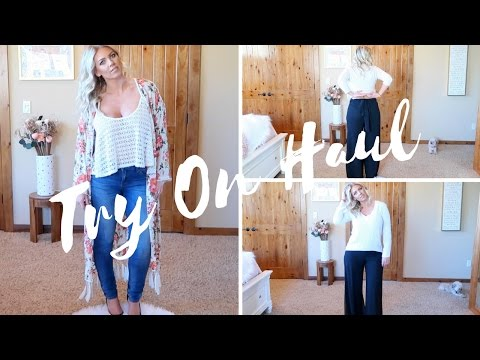 Affordable TRY ON Spring Clothing Haul