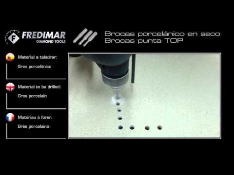 FREDIMAR - Brocas porcelanico seco
