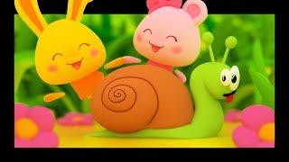 Petit escargot - Comptines pour bébé - Titounis