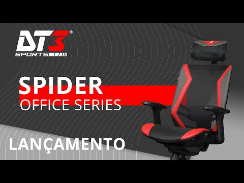 LANÇAMENTO DT3 SPIDER - CADEIRA COM ENCOSTO FLEXÍVEL