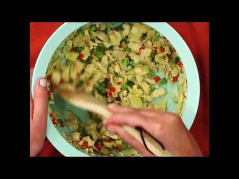 DaVita Eats: Artichoke Relish on Toasted Pita