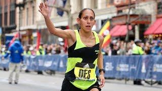 Des Linden Finishes 5th at the 2019 Boston Marathon