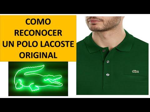Vídeo Comparação - Lacoste - Original X AliExpress   VideoMoviles.com b75946f277