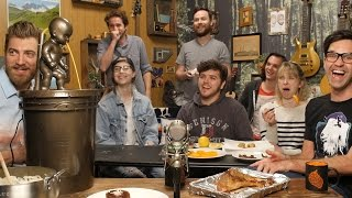 Weird Fondue Taste Test: Good Mythical Crew
