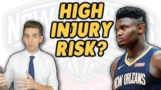 I've Never Been More Worried Watching an NBA Game   Zion Williamson Injury Risk