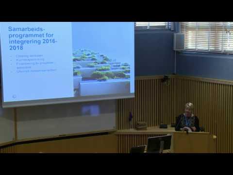 Föreläsning 1: Om nordiska samarbetsprogrammet om integration, Lise Østby, Nordiska ministerrådet