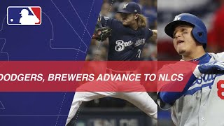 Brewers and Dodgers set to square off in NLCS
