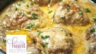 Southern Smothered Chicken with Gravy - I Heart Recipes