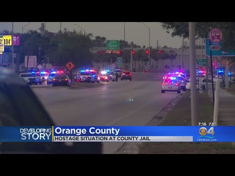 Hostage Situation At Orange County Jail Ends After An Hour