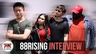 88rising Interview | Rich Brian, NIKI, Joji, August 08 | 'Head in the Clouds' & Asian Representation