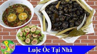 ✅ Bí Mật Luộc Ốc Ngon Của Nhà Hàng | Hồn Việt Food