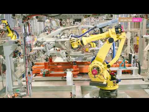 POWERFUL INDUSTRY ROBOTS Working At Another Level