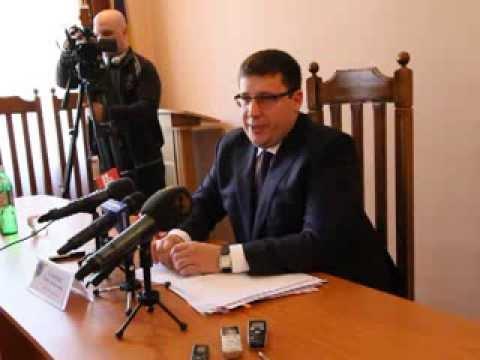 Дебютна прес-конференція прокурора Буковини Павла Павлюка ч. 2