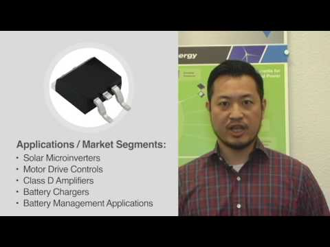MOSFETs: Super 12 for 2016: SUM / SUP 70040E 100 V N-Channel MOSFETs