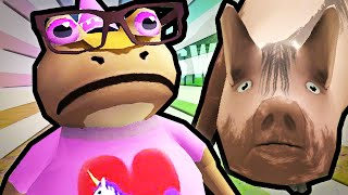 The Amazing Frog | ADVENTURES OF PRINCESS FROG!!