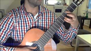 Super Mario Bros – Underwater Theme (Classical Guitar)