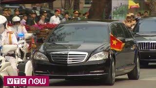 Chủ tịch Triều Tiên Kim Jong-un đến Phủ Chủ tịch   VTC1