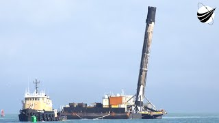 SpaceX - SXM7 - Return To Port  12-17-2020