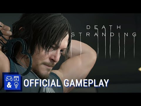 Death Stranding Gameplay - Tokyo Game Show 2019
