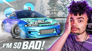 I SUCK at CarX Drift Racing Online...